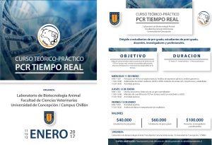 Afiche Curso PCR tiempo real